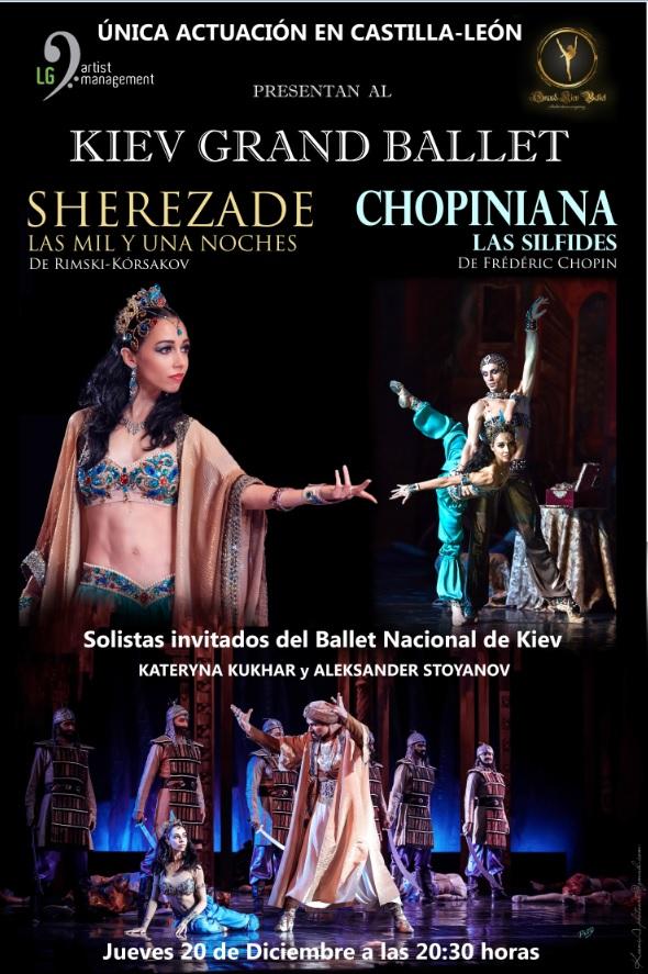 20 de Diciembre: Sherezade y Chopiniana