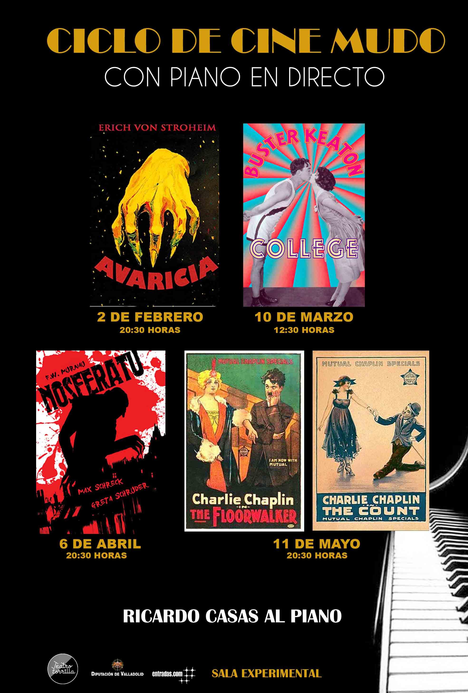 6 de Abril: Ciclo de cine mudo: Nosferatu / Sala Experimental