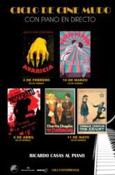 11 de Mayo: Ciclo de cine mudo: El conde y Charlot en la tienda / Sala Experimental