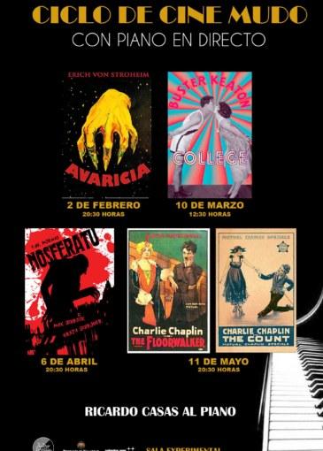 Ciclo de cine mudo: Avaricia