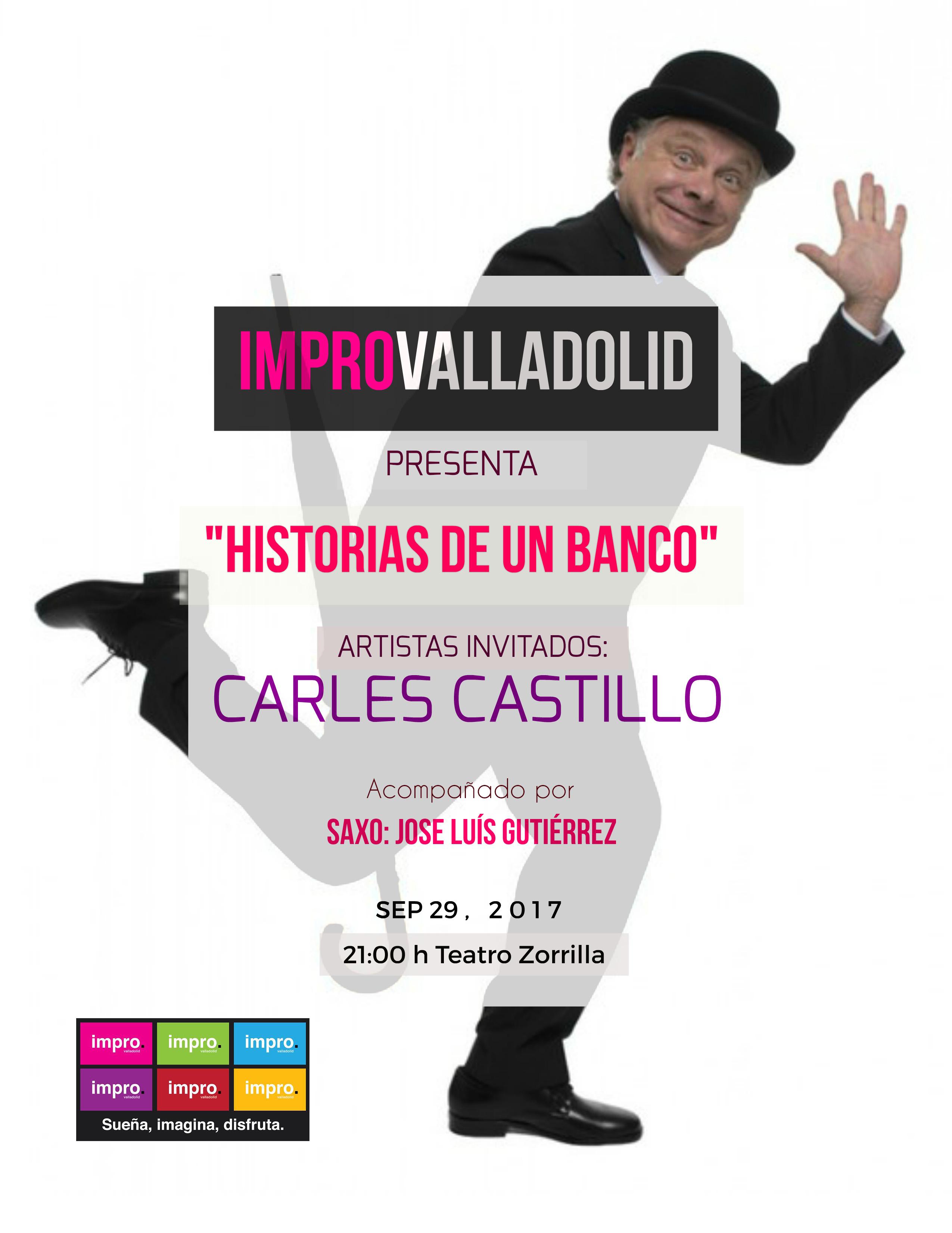 29 de Septiembre: Impro Valladolid - Carles Castillo / Sala Experimental