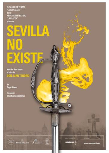 Sevilla no existe Cartel