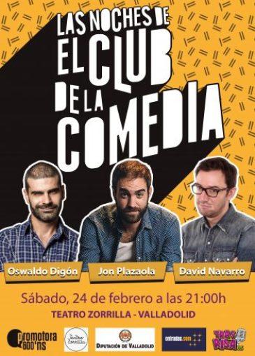 Cartel Valladolid CLUB 20180224 e1514583350370