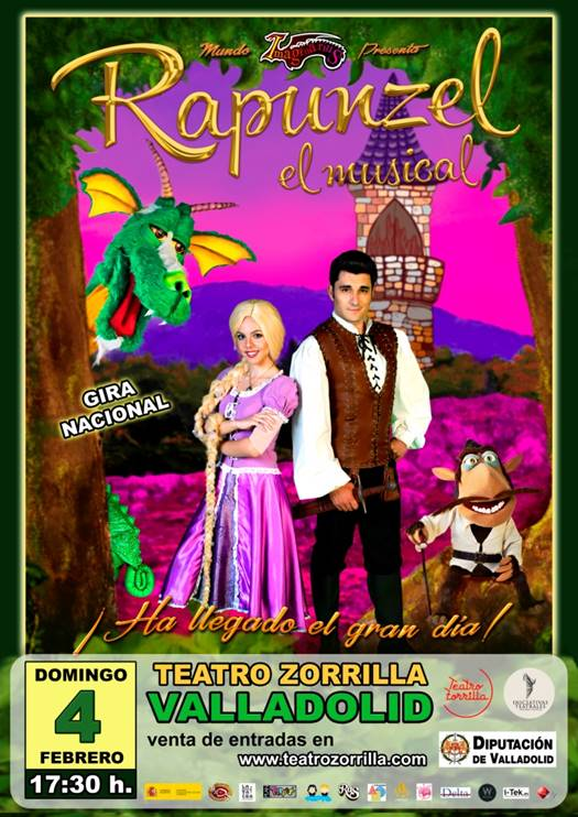 4 de Febrero: Rapunzel El Musical