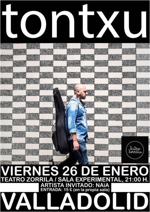 26 de Enero: Tontxu / Sala Experimental/ ENTRADAS AGOTADAS
