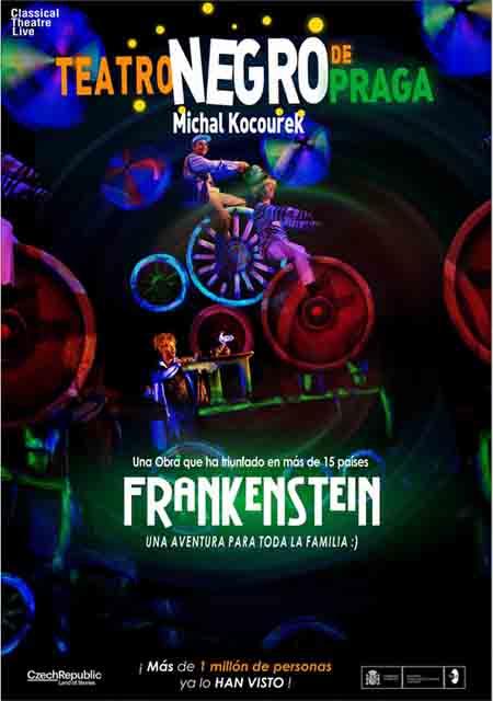 2 de Marzo: Frankenstein (Teatro Negro de Praga)