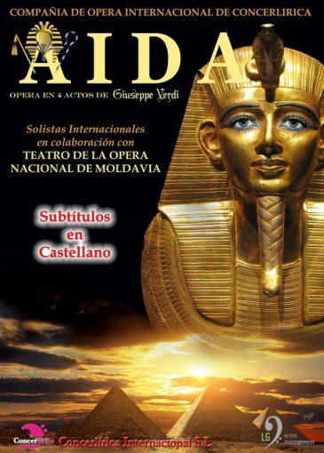 cartel anunciador AIDA 2018