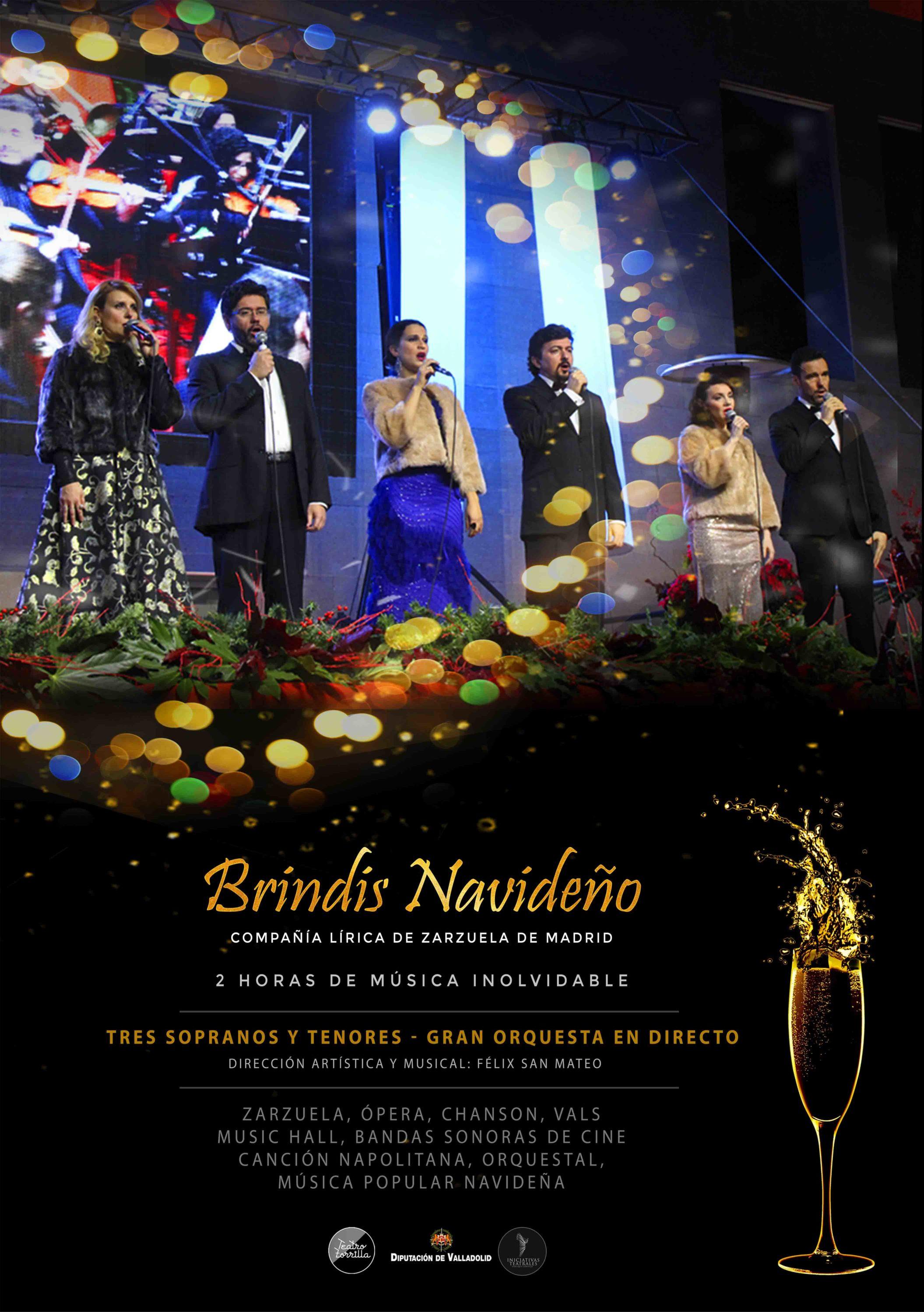 22 de Diciembre: Brindis Navideño