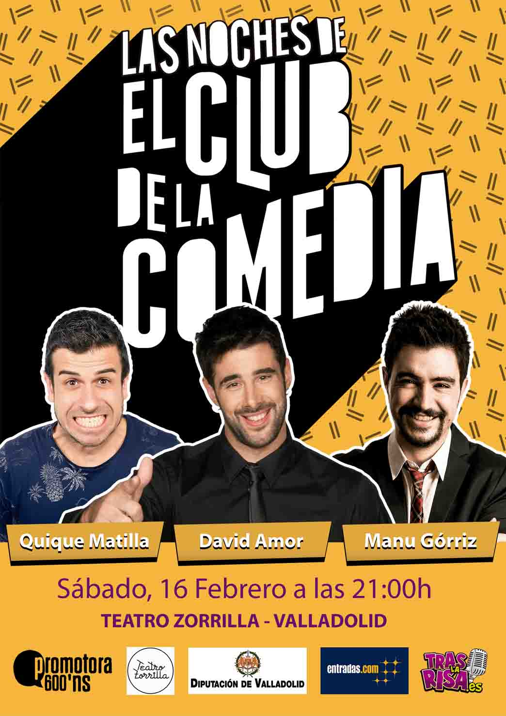 16 de Febrero: Las Noches del Club de la Comedia