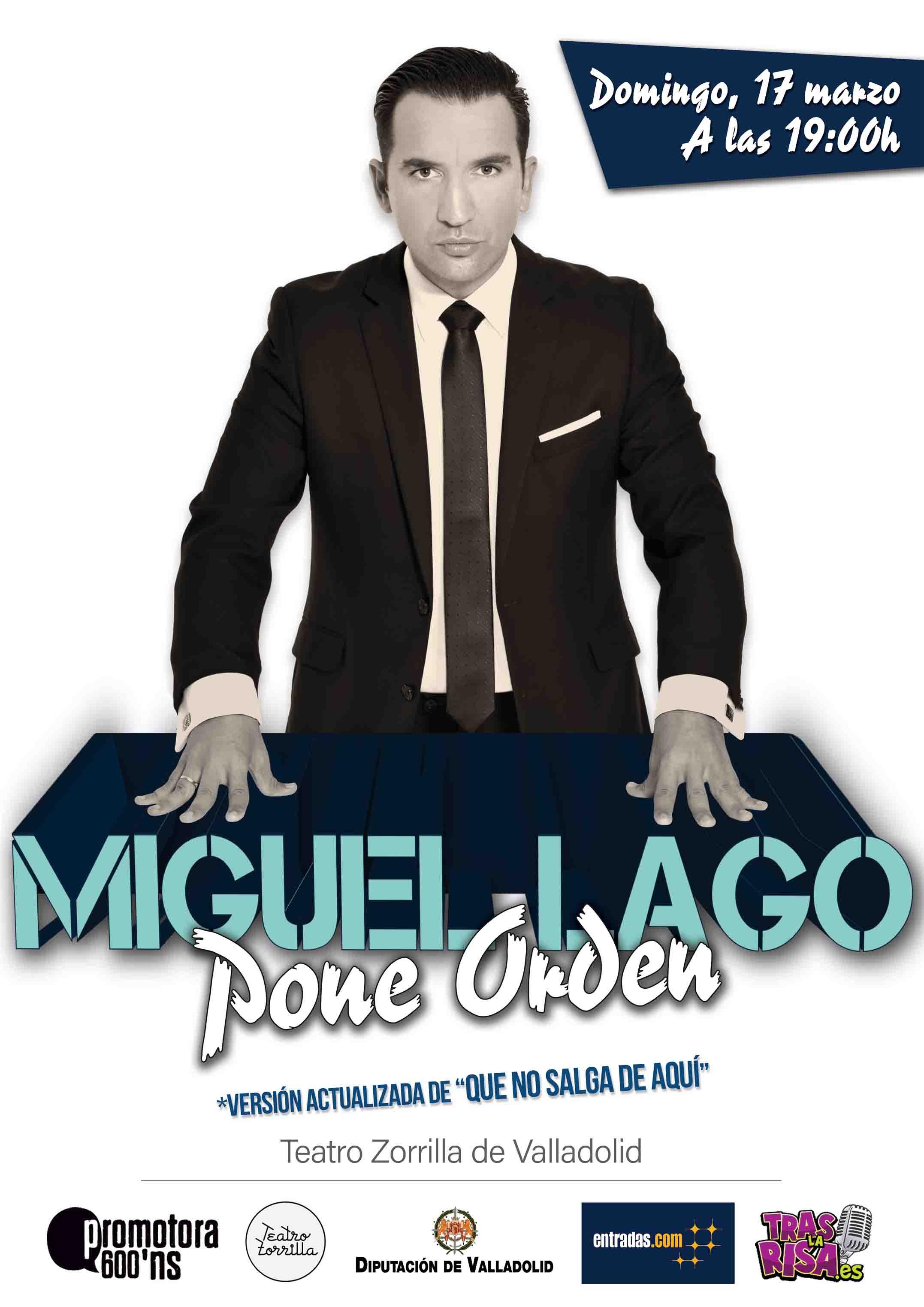 17 de Marzo: Miguel Lago pone orden