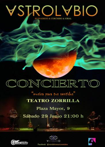 Astrolabio concierto Teatro Zorrilla