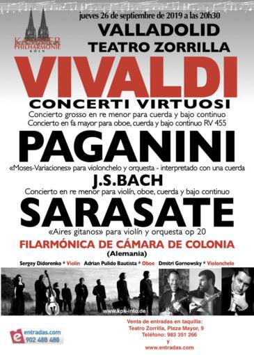 Concierto de la Orquesta Filármonica de Colonia