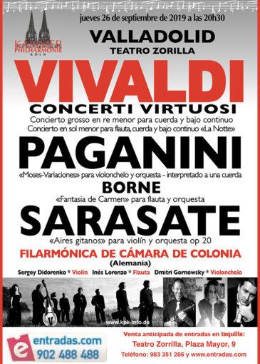 Vivaldi Concierto de la Orquesta Filármonica de Colonia