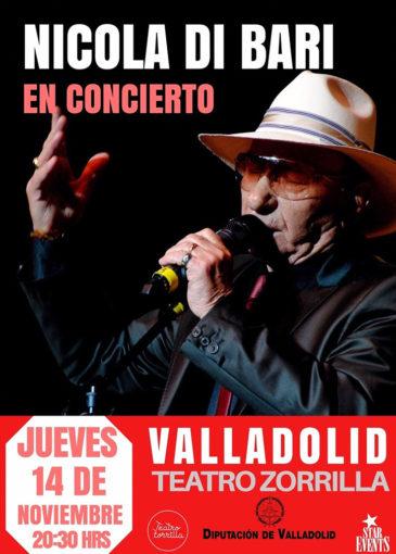 Nicola di Bari concierto valladolid