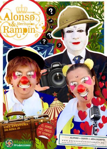 Una aventura de risa con los payasos Alonso & Rampín