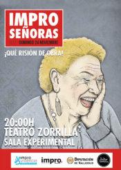 24 de Noviembre: IMPRO SEÑORAS / Sala Experimental