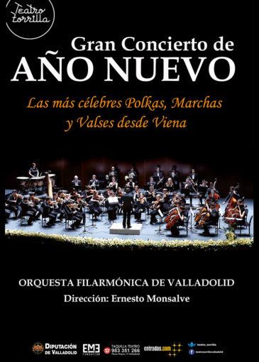 Gran concierto de Año Nuevo Valladolid