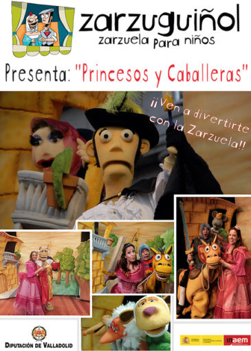Princesos y Caballeras Zarzuela para niños