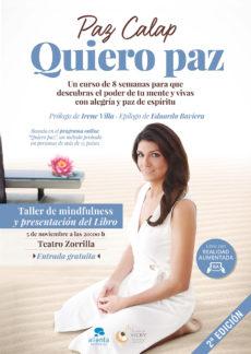 """5 de Noviembre: Presentación del libro """"Quiero Paz"""""""