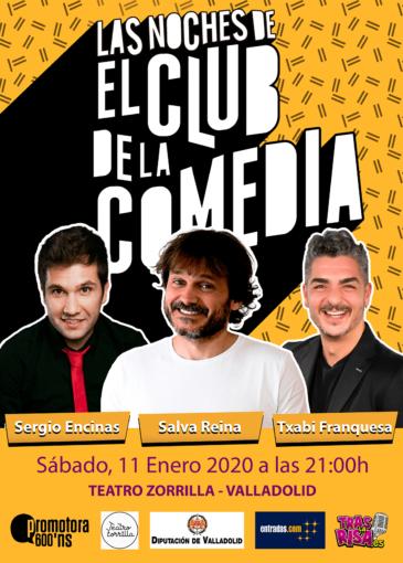 Las noches de El Club de la Comedia en Valladolid