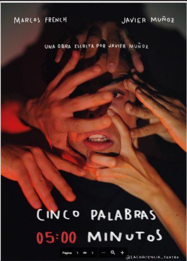 Cinco Palabras escrita por Javier Muñoz