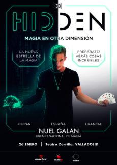 26 de Enero de 2020: HIDDEN, magia en otra dimensión