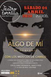 04 de Abril de 2020: Algo de mi, el homenaje de los músicos de Camilo