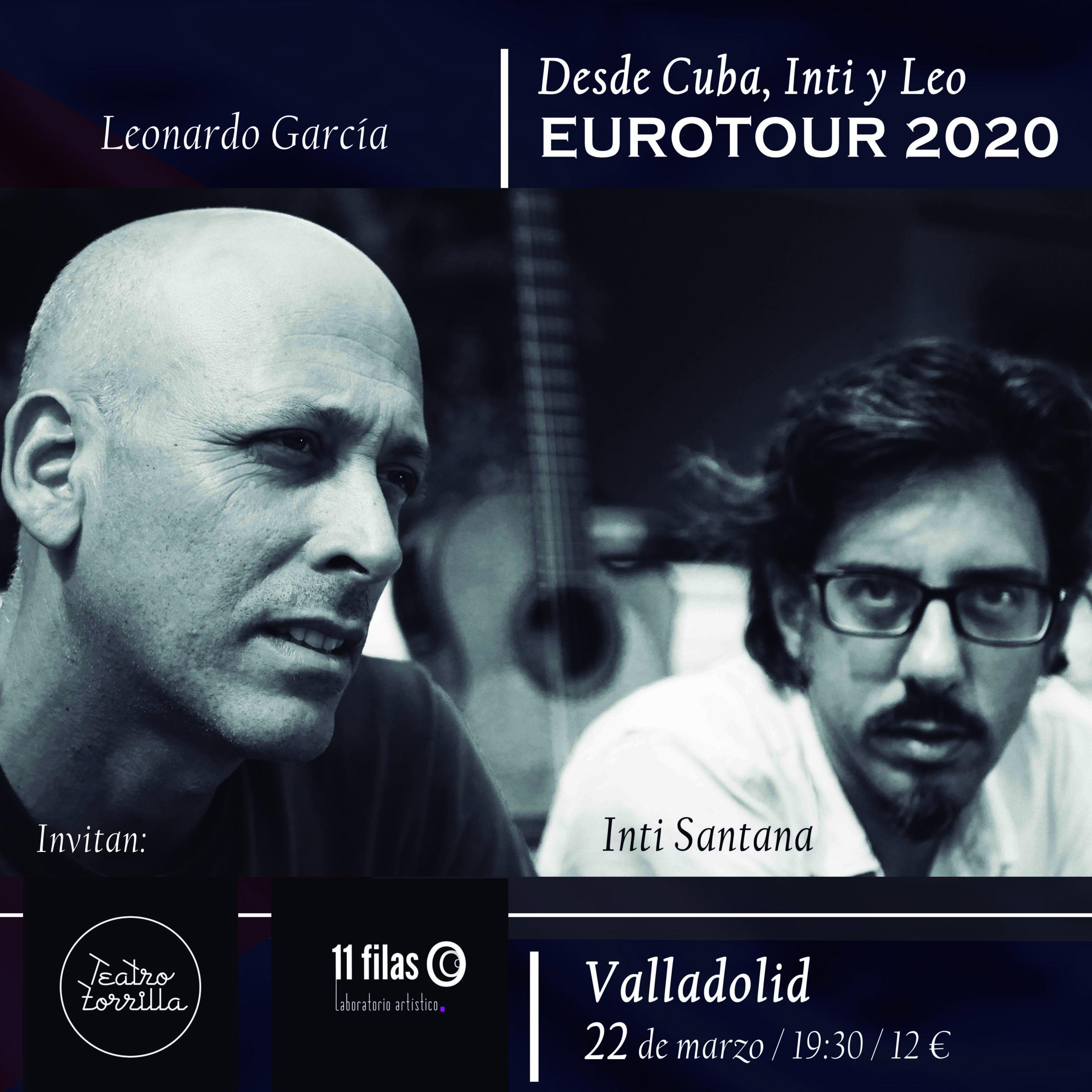 Inti y Leo, Eurotour 2020 a ritmo cubano