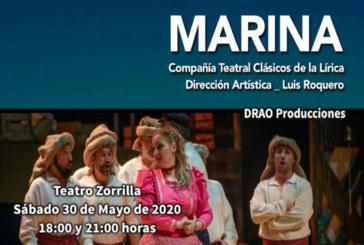 30 de Mayo de 2020: Marina