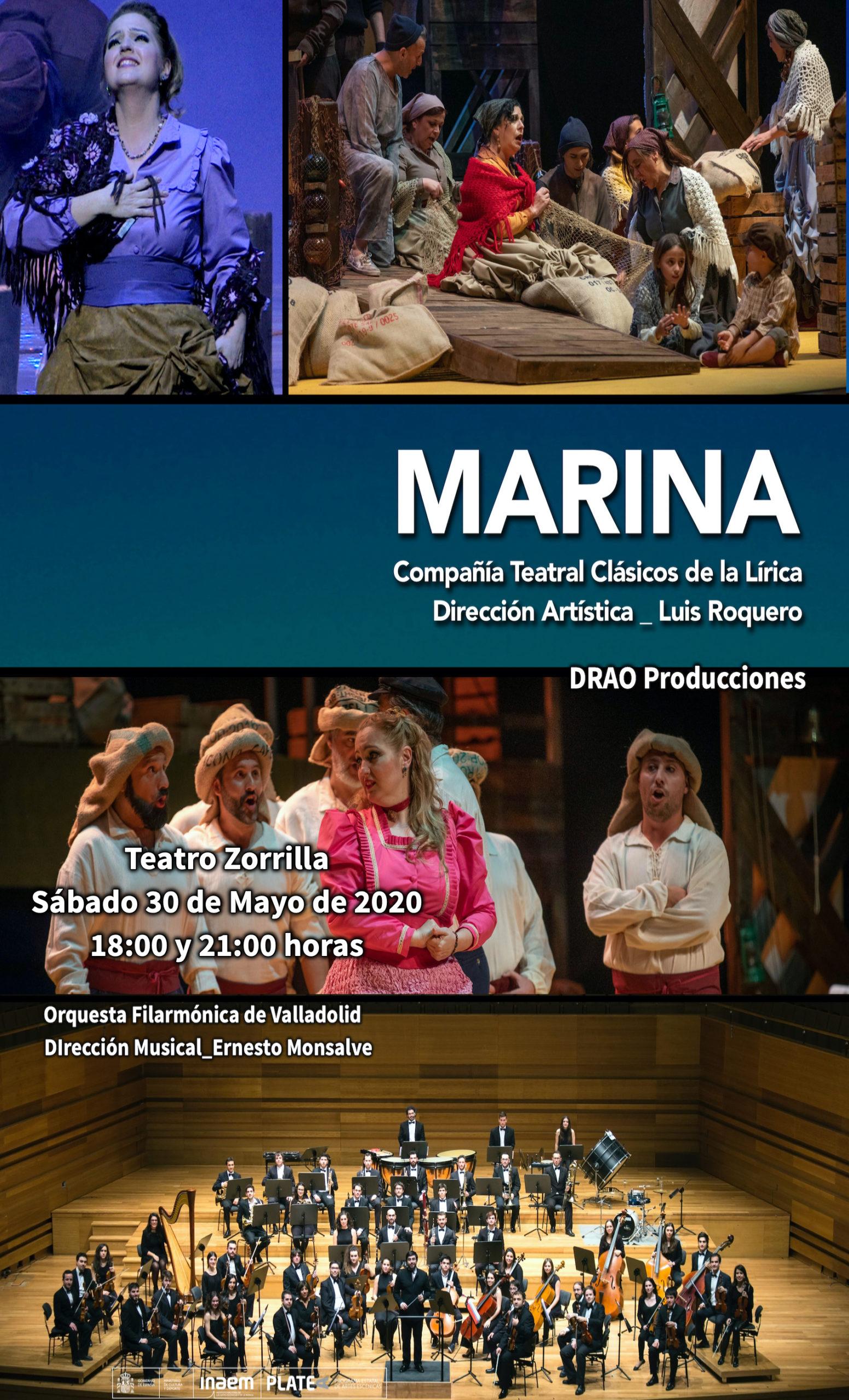 Marina, un clásico de la lírica
