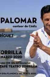 13 de Marzo de 2020: David Palomar, cantaor de Cádiz