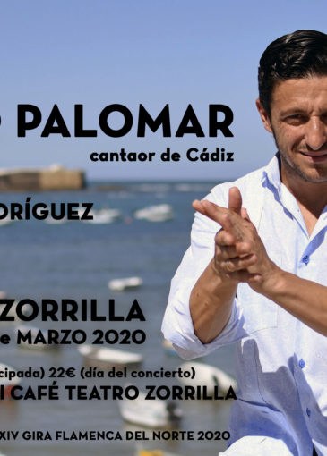 David Palomar, cantaor de flamenco