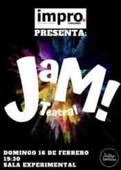16 de Febrero de 2020: JAM Teatral