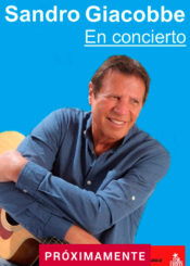 APLAZADO: Sandro Giacobbe en concierto.