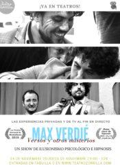 14 y 15 de Noviembre de 2020: Max Verdié. Versos y otros misterios.