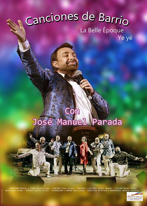 CANCIONES DE BARRIO CON JOSÉ MANUEL PARADA en Valladolid