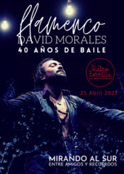 25 de Abril de 2021: David Morales. 40 años de baile.