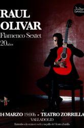 14 de Marzo de 2021: Raul Olivar. Flamenco Sextet.