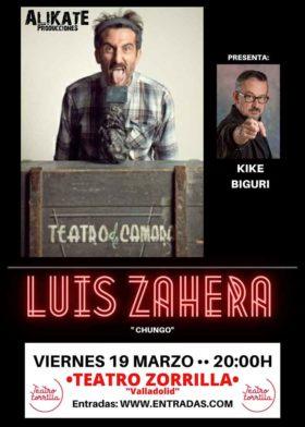 19 de marzo de 2021: Chungo de Luis Zahera