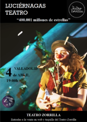 4 de Abril de 2021: Luciérnagas Teatro. 400.001 millones de estrellas.