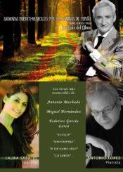 23 de abril de 2021: Andanzas poetico-musicales por los caminos de España.