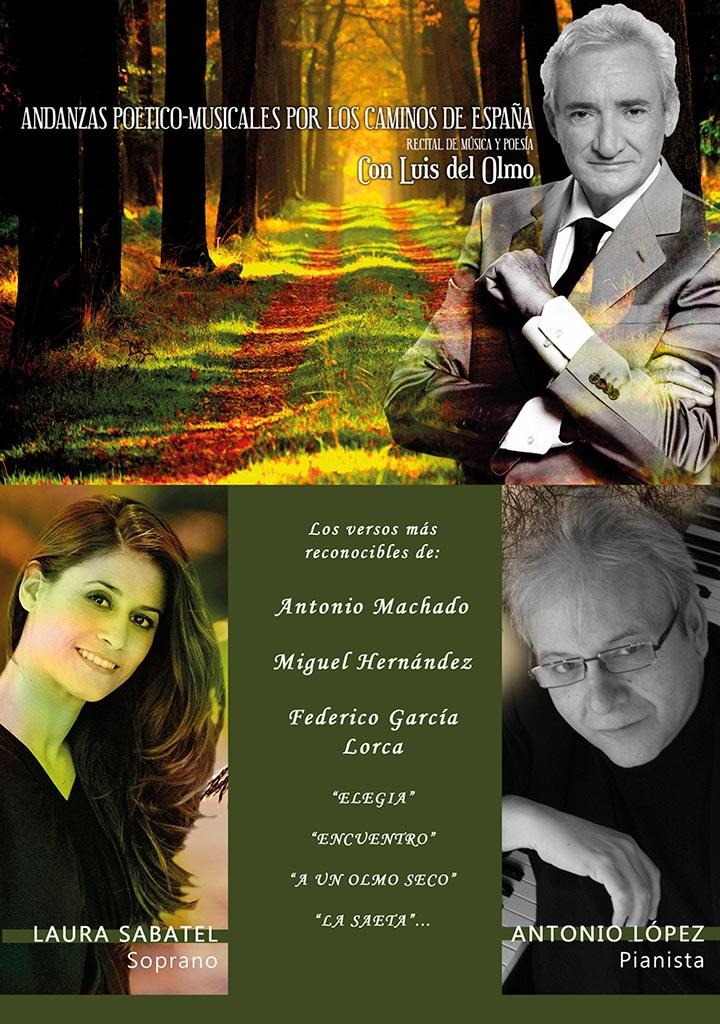 Andanzas poetico-musicales por Luis del Olmo