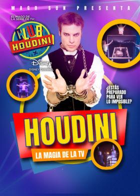 17 de Octubre: HOUDINI, la magia de la TV.